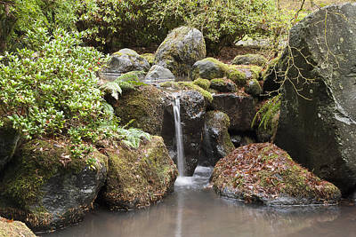 Christina Miller Photograph - Portland Japanese Gardens by Christina Miller
