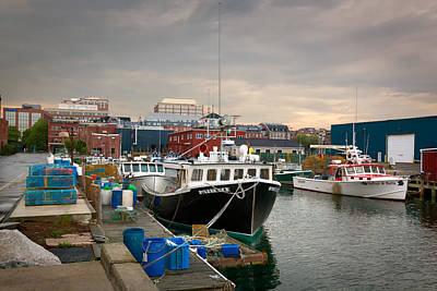 Photograph - Portland Maine Waterfront by Denis Lemay