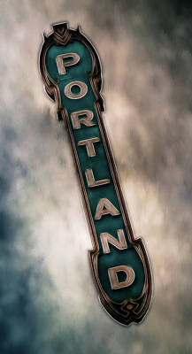 Photograph - Portland Marquis Landmark II by Athena Mckinzie
