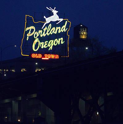 Photograph - Portland Oregon Old Town by Joseph Skompski