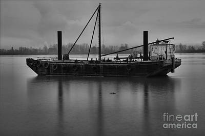 Photograph - Portland Oregon Tug Boat by Adam Jewell