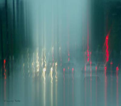 Portland Rains Art Print