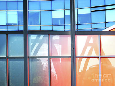 Photograph - Portland Reflections And Distortions by Rick Locke