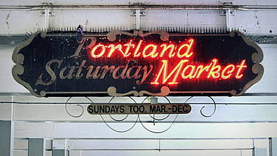 Photograph - Portland Saturday Market by Joseph Skompski