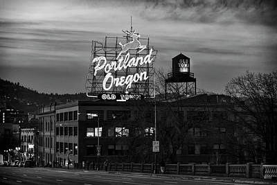 Photograph - Portland Signs by Steven Clark
