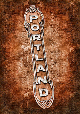 Photograph - Portland by Steve McKinzie