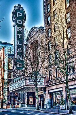Photograph - Portland Theater - Oregon by Spencer McDonald