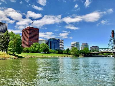 Photograph - Portland Waterfront by Brian Eberly