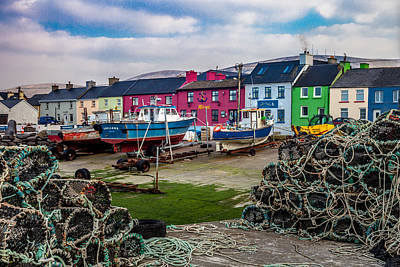 Portmagee Wall Art - Photograph - Portmagee Harbor by W Chris Fooshee