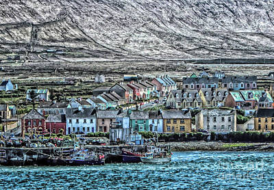 Portmagee Wall Art - Photograph - Portmagee  by Julie Chambers