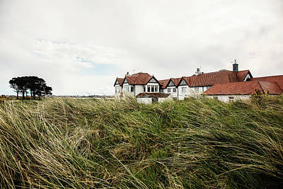 Photograph - Portmarnock Clubhouse by Scott Pellegrin