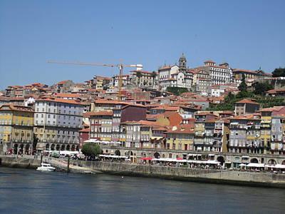 Photograph - Porto Boardwalk II Portugal by John Shiron