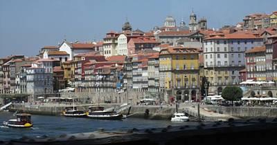 Photograph - Porto Boardwalk Portugal by John Shiron
