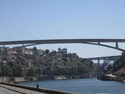Photograph - Porto Bridge II Portugal by John Shiron