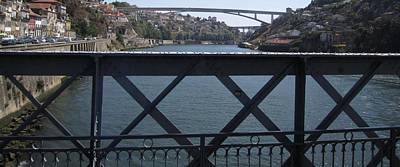 Photograph - Porto Bridge IIi Portugal by John Shiron