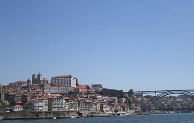 Photograph - Porto Bridge Iv Portugal by John Shiron