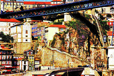 Photograph - Porto Bridge by Rick Bragan