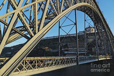 Photograph - Porto Bridge View by Angelo DeVal