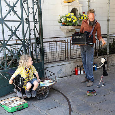 Photograph - Porto Buskers by Andrew Fare