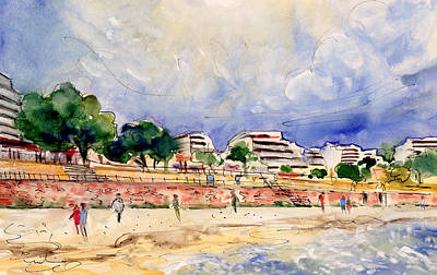 Painting - Porto Cristo 02 by Miki De Goodaboom