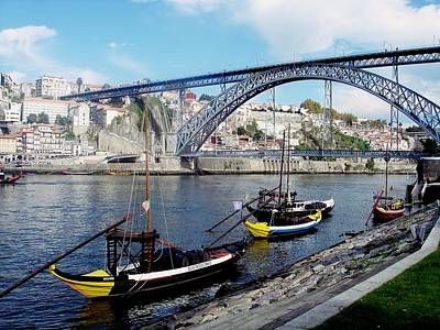 Photograph - Porto Dom Luis Bridge 01 by Dora Hathazi Mendes