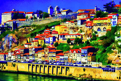 Photograph - Porto From The Top by Rick Bragan