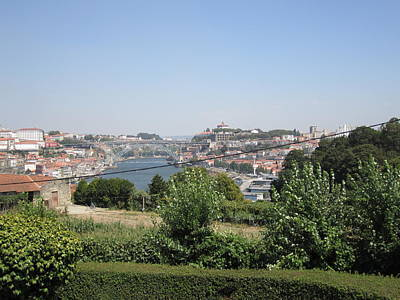 Photograph - Porto Garden View II Portugal by John Shiron