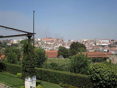 Photograph - Porto Garden View Iv Portugal by John Shiron