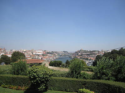 Photograph - Porto Hilltop Panorama Portugal by John Shiron
