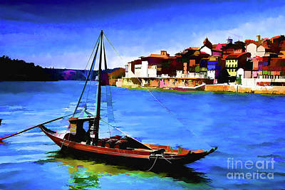Photograph - Porto Old Boat by Rick Bragan