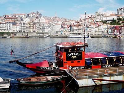 Photograph - Porto River Douro 01 by Dora Hathazi Mendes