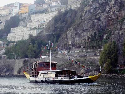 Photograph - Porto River Douro 04 by Dora Hathazi Mendes