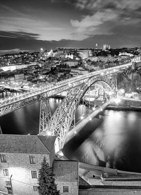 Photograph - Porto Sao Luis I Bridge by Bruno Rosa