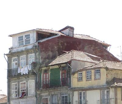 Photograph - Porto Vintage Building by John Shiron