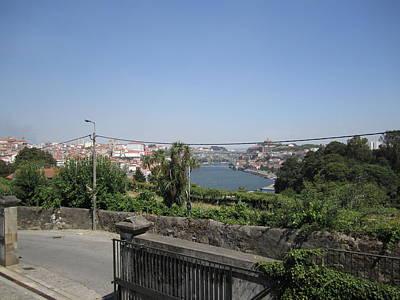 Photograph - Porto Winery View Portugal by John Shiron