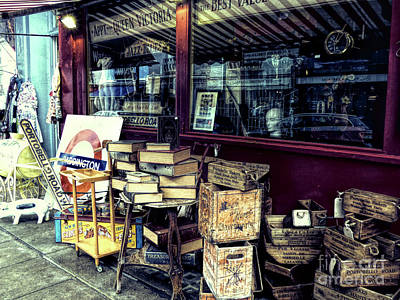 Photograph - Portobello Road London Junk Shop by Lynn Bolt