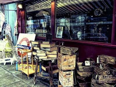 Photograph - Portobello Road London Junk Shop by Lynn Bolt