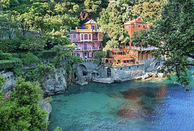 Photograph - Portofino 4 by Al Hurley