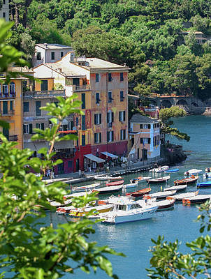 Photograph - Portofino 5 by Al Hurley