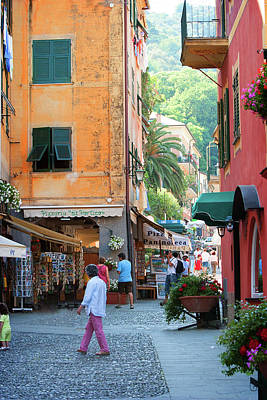 Photograph - Portofino 6 by Al Hurley