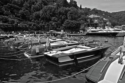 Photograph - Portofino Anchorage by Steven Lapkin