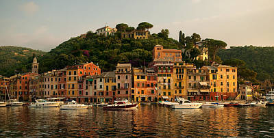Portofino Bay Art Print by Neil Buchan-Grant