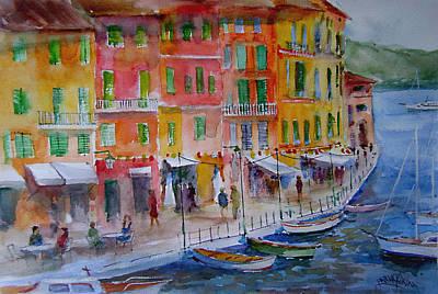 Painting - Portofino... by Faruk Koksal
