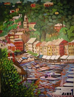 Painting - Portofino by Fran Steinmark