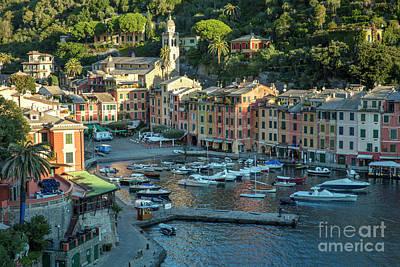 Photograph - Portofino Harbor by Brian Jannsen