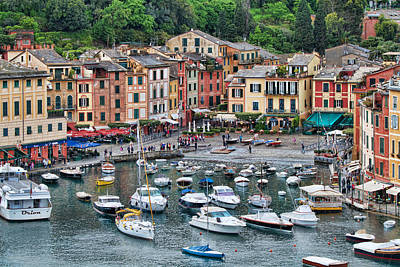 Photograph - Portofino Harbor by Kim Wilson