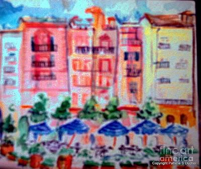 Portofino Italy Painting - Portofino Hotel by Patricia Ducher