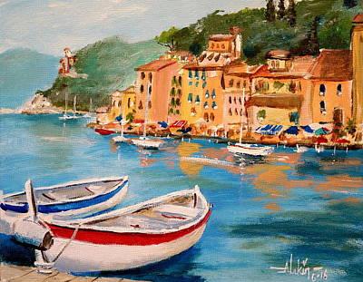 Painting - Portofino II by Alan Lakin