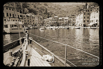 Puerto Wall Art - Photograph - Portofino Italy From Solway Maid by Dustin K Ryan
