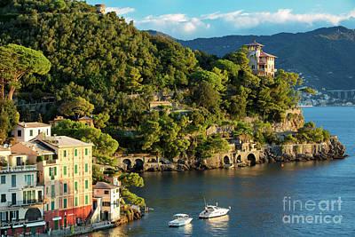 Portofino Morning IIi Art Print by Brian Jannsen